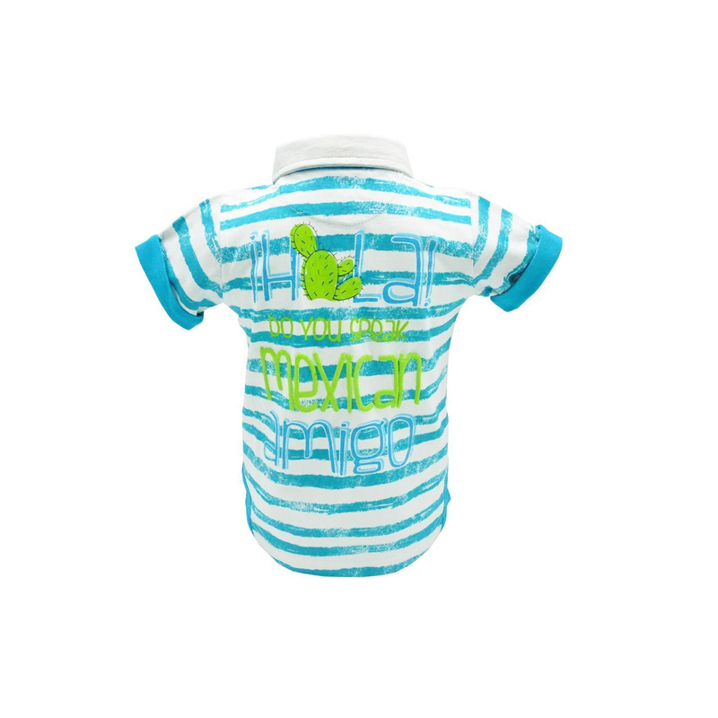 Blue Seven Baby Boys Polo Shirt