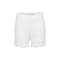 white jeans shorts for girls by NAME IT