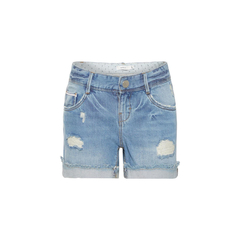 Girls jeans shorts with destroyed details by Name It