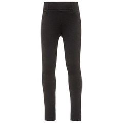 NAME IT Sweat- Leggins in schwarz aus Bio-Baumwolle