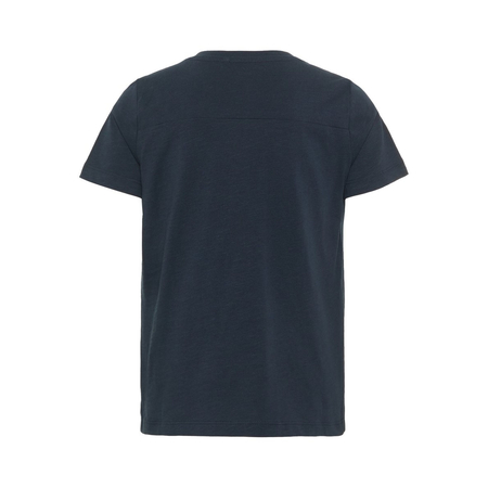 NAME IT boys T-Shirt with breast pocket in dark blue