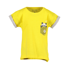 Blue Seven Unisex T-Shirt Pandastic in gelb