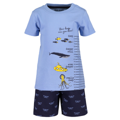 Blue Seven Baby Boys Set Ocean with shorts and T-Shirt in...