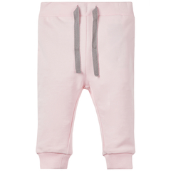 Name It Baby pants made of organic cotton in pink