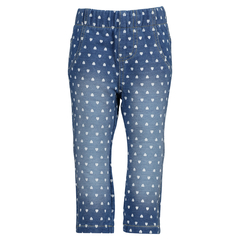 Blue Seven cotton jeans jeggings for girls in blue