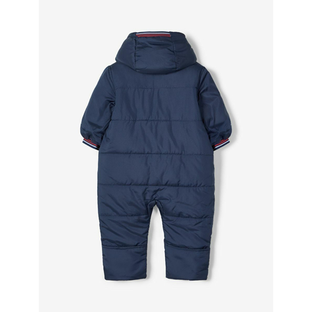 Name It Baby quilted snowsuit in blue